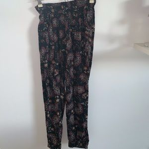 Aerie patterned joggers